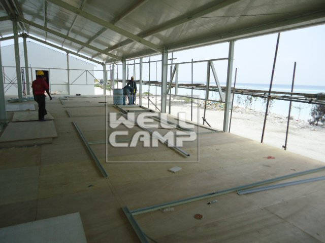 Two Floor Temporary Modular Prefab House For Accommodation, Wellcamp T-12