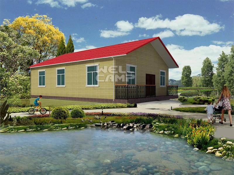 Holiday Customized Concrete Prefab Villa