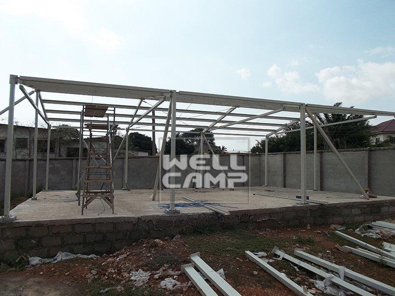 Luxury Customized Standard Modular Prefab House, Wellcamp CV-2