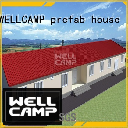 Prefabricated Concrete Villa hotel project WELLCAMP, WELLCAMP prefab house, WELLCAMP container house Brand