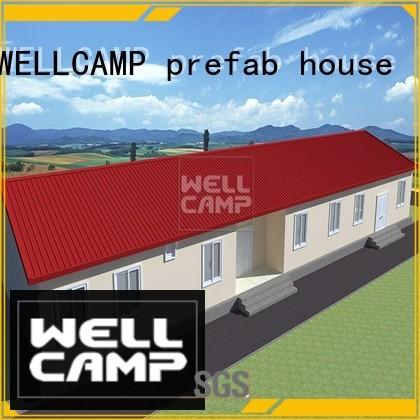 Prefabricated Concrete Villa hotel project WELLCAMP, WELLCAMP prefab house, WELLCAMP container house Brand
