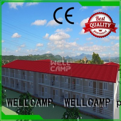 Wholesale smart hotel modular house WELLCAMP, WELLCAMP prefab house, WELLCAMP container house Brand
