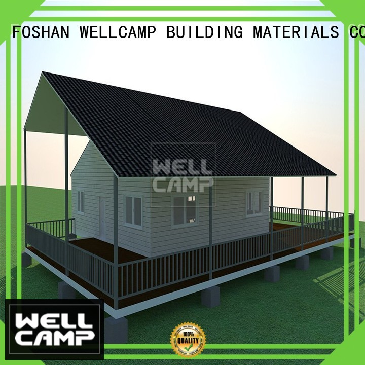 WELLCAMP, WELLCAMP prefab house, WELLCAMP container house Brand luxury wellcamp cost Prefabricated Concrete Villa