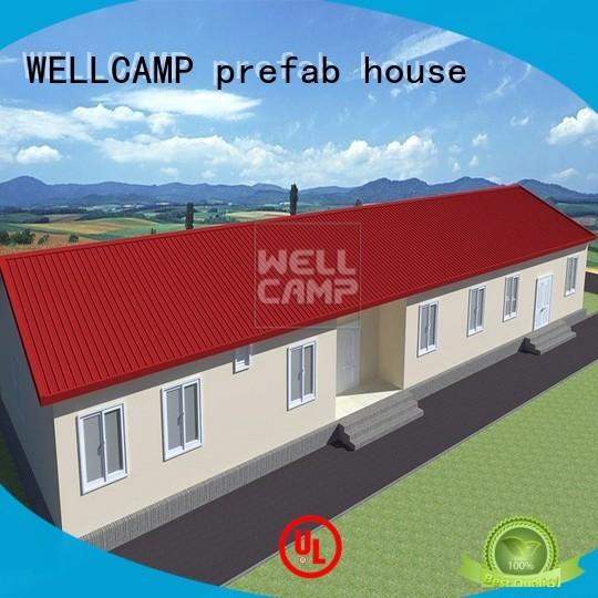 holiday prefab modular modular house WELLCAMP, WELLCAMP prefab house, WELLCAMP container house Brand company