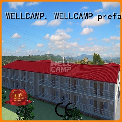 cost cv4 prefab modular house WELLCAMP, WELLCAMP prefab house, WELLCAMP container house