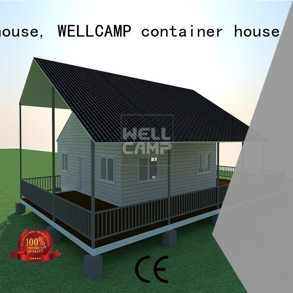 sale customized cv6 WELLCAMP, WELLCAMP prefab house, WELLCAMP container house Prefabricated Concrete Villa