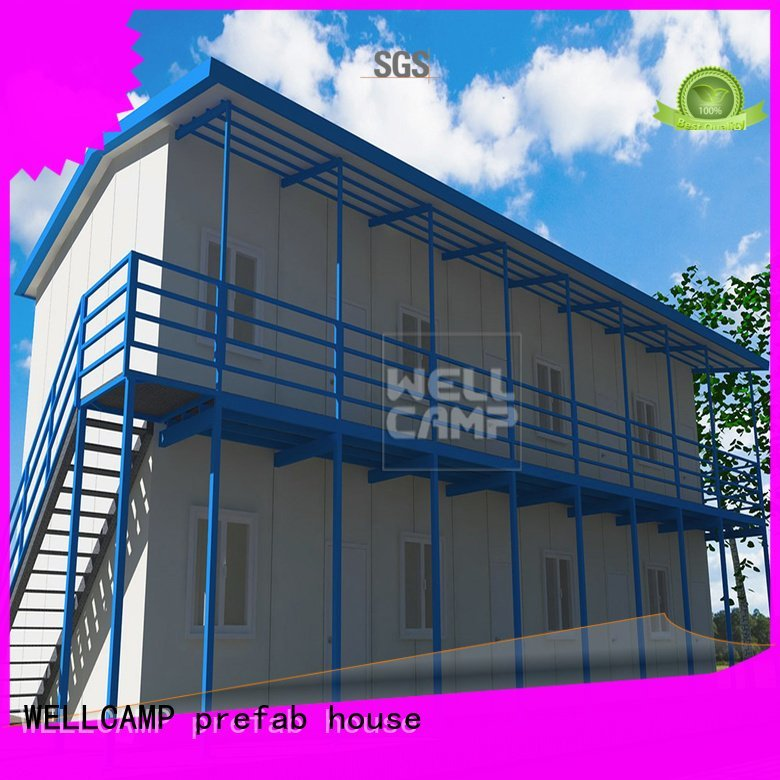 three economical panel modular prefabricated house suppliers
