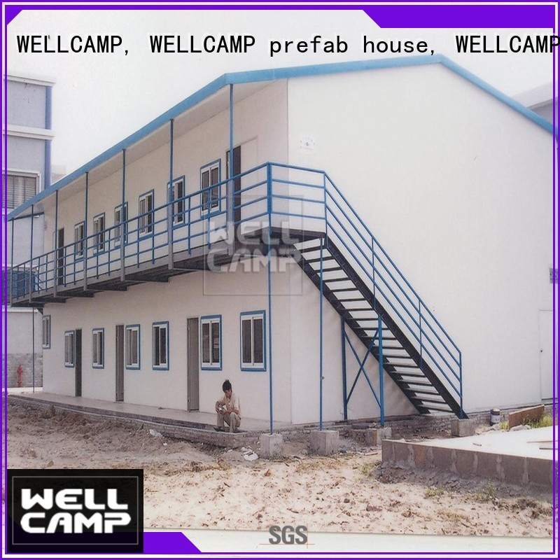 Custom economic building prefab houses for sale WELLCAMP, WELLCAMP prefab house, WELLCAMP container house labour