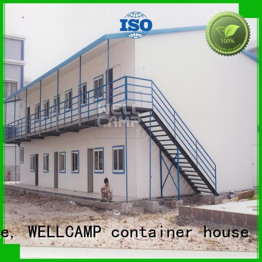 modular prefabricated house suppliers students style WELLCAMP, WELLCAMP prefab house, WELLCAMP container house Brand prefab houses for sale