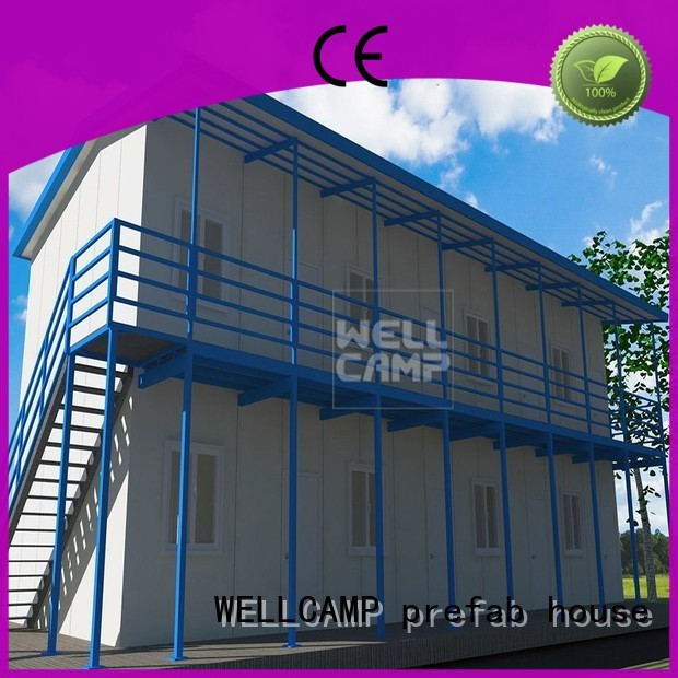 WELLCAMP, WELLCAMP prefab house, WELLCAMP container house Brand storey t15 room prefab houses for sale manufacture