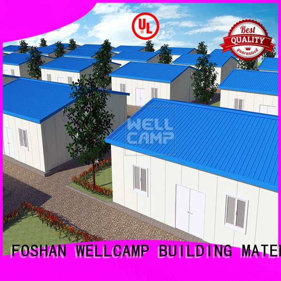 panel three home WELLCAMP, WELLCAMP prefab house, WELLCAMP container house modular prefabricated house suppliers