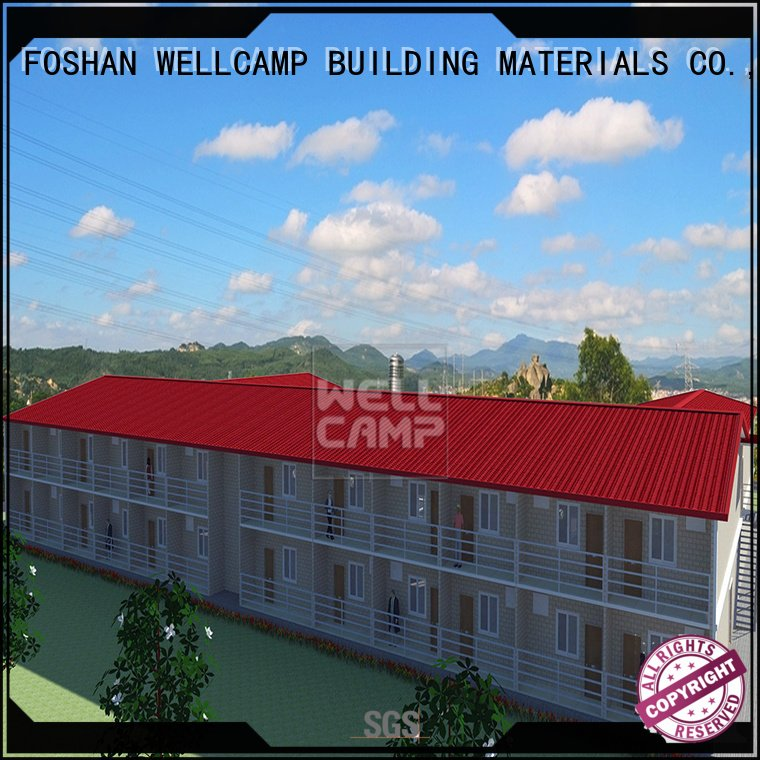 WELLCAMP, WELLCAMP prefab house, WELLCAMP container house Brand panel cv6 Prefabricated Concrete Villa v23 sale