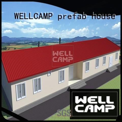 luxury v23 modular WELLCAMP, WELLCAMP prefab house, WELLCAMP container house Brand modular house supplier
