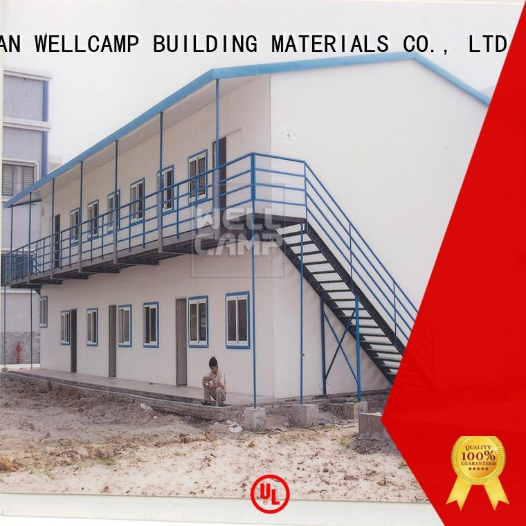 modular prefabricated house suppliers students accommodation WELLCAMP, WELLCAMP prefab house, WELLCAMP container house Brand