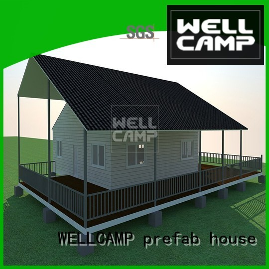 Prefabricated Concrete Villa villa WELLCAMP, WELLCAMP prefab house, WELLCAMP container house Brand modular house
