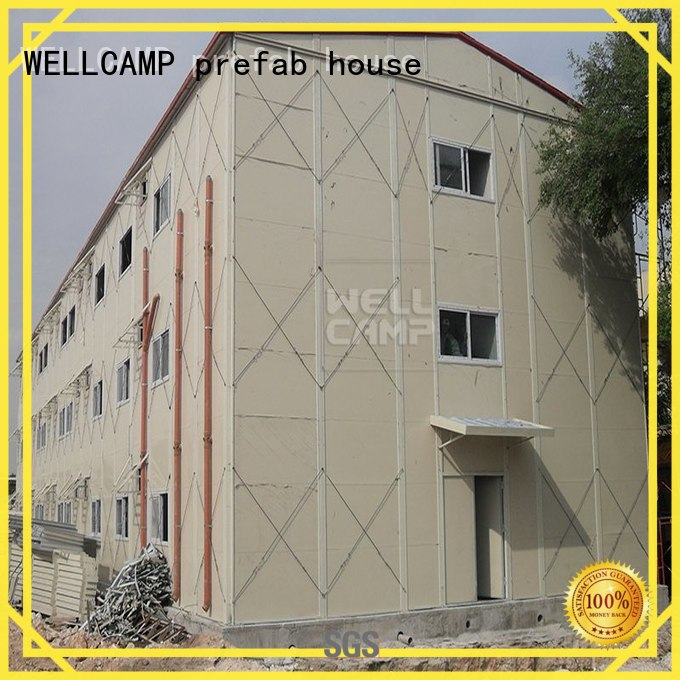 hospital Custom floor prefab houses on WELLCAMP, WELLCAMP prefab house, WELLCAMP container house