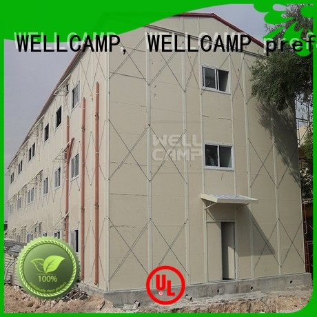 WELLCAMP, WELLCAMP prefab house, WELLCAMP container house Brand movable prefab houses fast factory