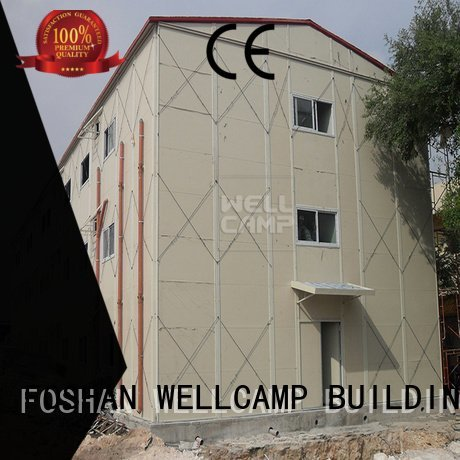 Quality prefabricated houses china price WELLCAMP, WELLCAMP prefab house, WELLCAMP container house Brand dormitory prefab houses