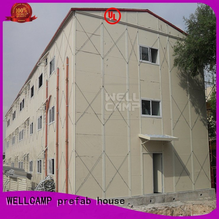 Brand section government prefabricated houses china price on rock