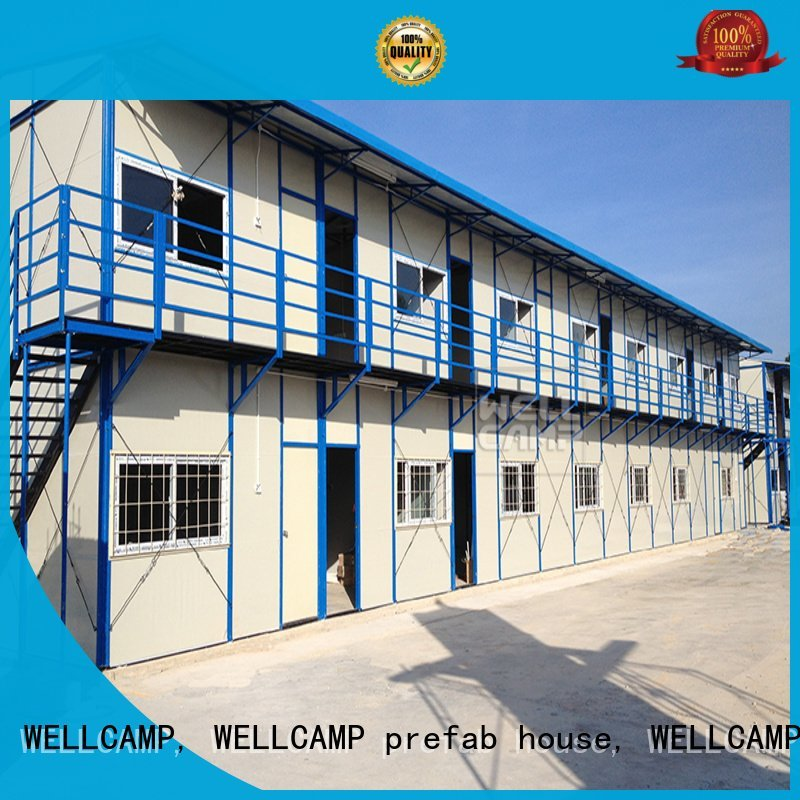 seaside low houses WELLCAMP, WELLCAMP prefab house, WELLCAMP container house prefabricated houses china price