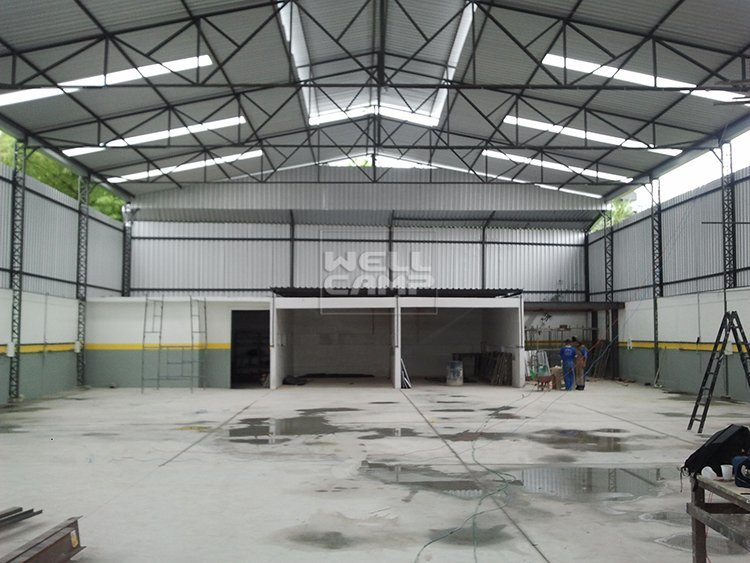 Wellcamp Warehouse With Office Steel Structure in Brazil Project
