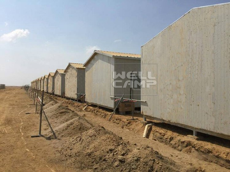 Economic Prefab Dormitory House in Saudi Arabia Project