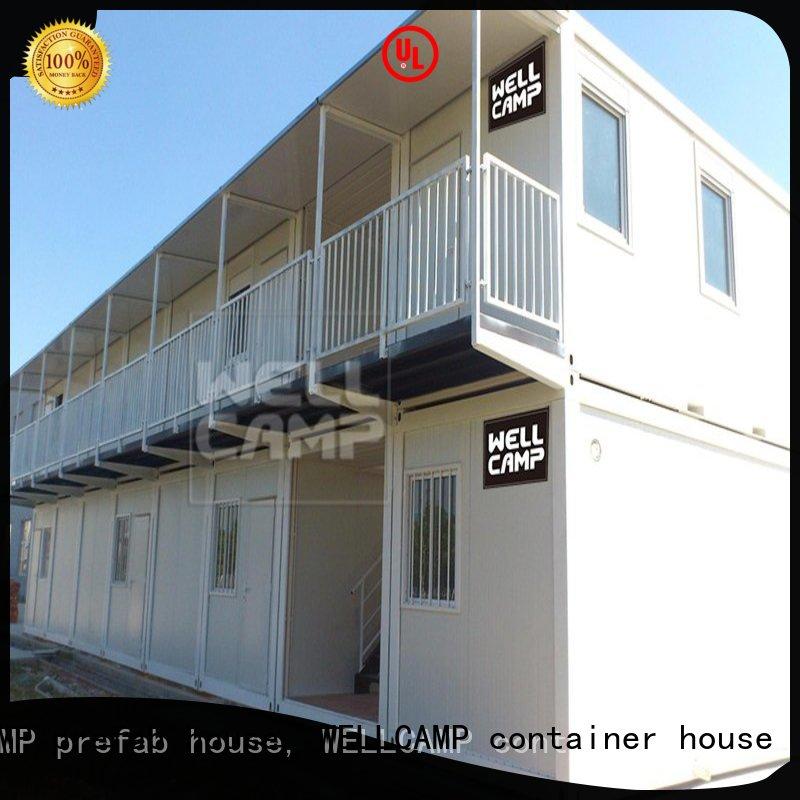 c10 floor WELLCAMP, WELLCAMP prefab house, WELLCAMP container house Brand modern container house factory