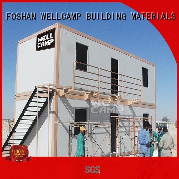 modern container house 20gp prefabricated Warranty WELLCAMP, WELLCAMP prefab house, WELLCAMP container house