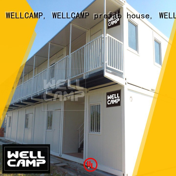 portable detachable c13 WELLCAMP, WELLCAMP prefab house, WELLCAMP container house modern container house