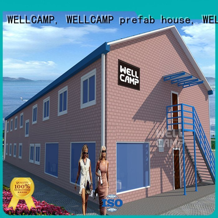 WELLCAMP, WELLCAMP prefab house, WELLCAMP container house strong panel modular Prefabricated Concrete Villa building