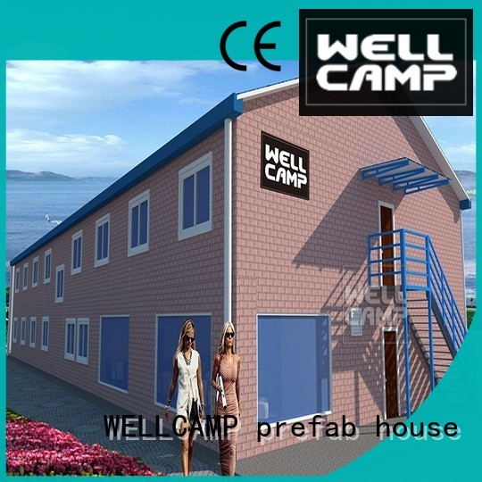 vocation customized modular house holiday WELLCAMP, WELLCAMP prefab house, WELLCAMP container house company