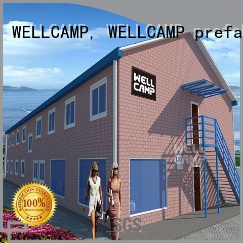 Hot modular house strong WELLCAMP, WELLCAMP prefab house, WELLCAMP container house Brand