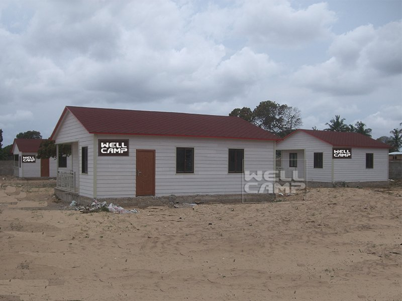 WELLCAMP, WELLCAMP prefab house, WELLCAMP container house Smart modular house for sale in Mozambique project Prefabricated Simple Villa image107