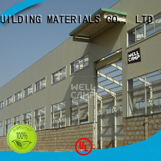 s2 project steel warehouse WELLCAMP, WELLCAMP prefab house, WELLCAMP container house Brand