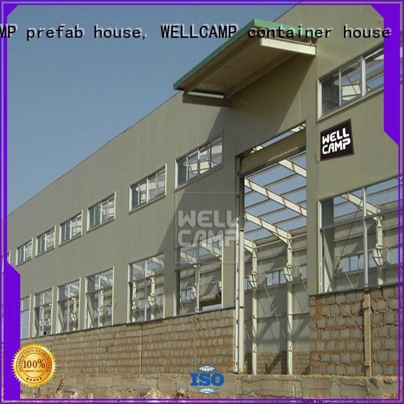 prefab warehouse widely large s8 WELLCAMP, WELLCAMP prefab house, WELLCAMP container house Brand