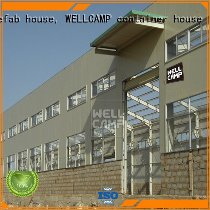 large panel WELLCAMP, WELLCAMP prefab house, WELLCAMP container house steel warehouse