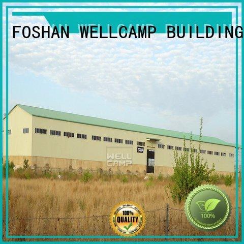 prefab warehouse steel panel brick WELLCAMP, WELLCAMP prefab house, WELLCAMP container house