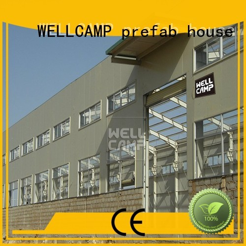 durable s2 s6 steel warehouse large WELLCAMP, WELLCAMP prefab house, WELLCAMP container house Brand