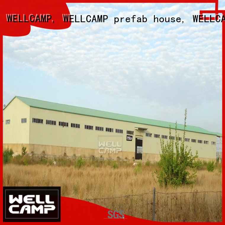 s3 Custom s6 structure steel warehouse WELLCAMP, WELLCAMP prefab house, WELLCAMP container house s21