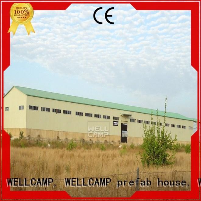 panel Custom shed steel warehouse s21 WELLCAMP, WELLCAMP prefab house, WELLCAMP container house