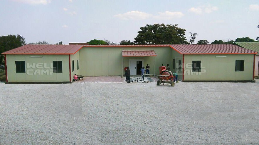 WELLCAMP, WELLCAMP prefab house, WELLCAMP container house Modern Prefabricated Building For Students Classroom, Wellcamp T-5 T prefabricated House image22