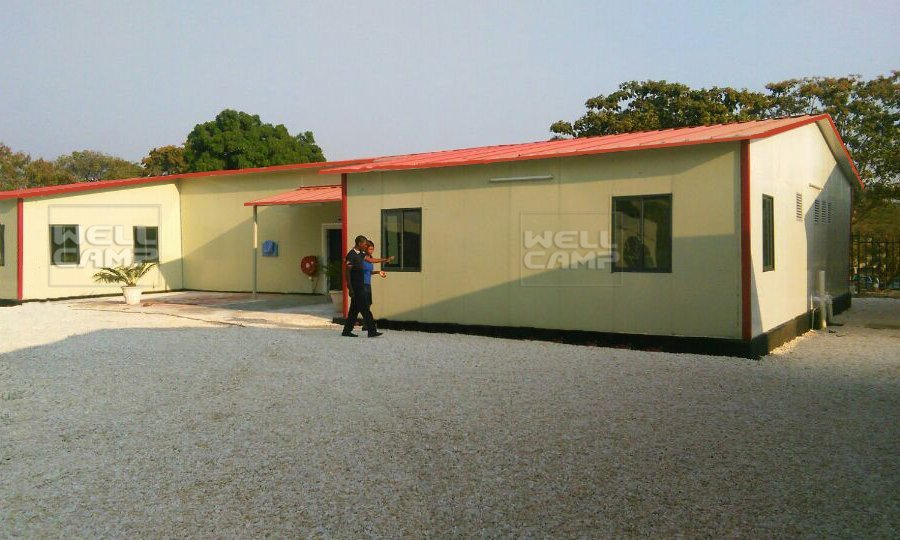 Modern Prefabricated Building For Students Classroom, Wellcamp T-5