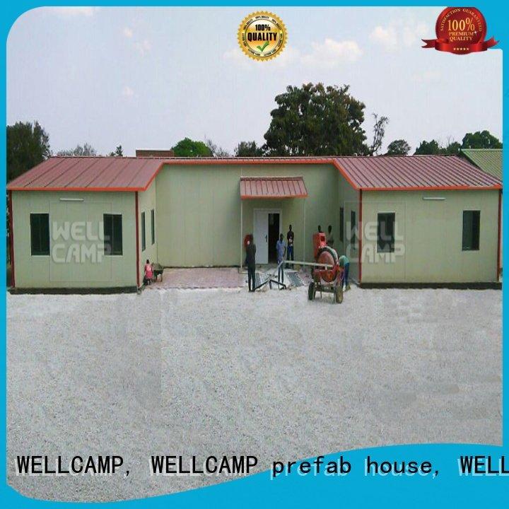 WELLCAMP, WELLCAMP prefab house, WELLCAMP container house Brand economical prefab modular prefabricated house suppliers customiz