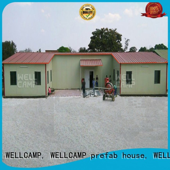 WELLCAMP, WELLCAMP prefab house, WELLCAMP container house Brand economical prefab modular prefabricated house suppliers customiz