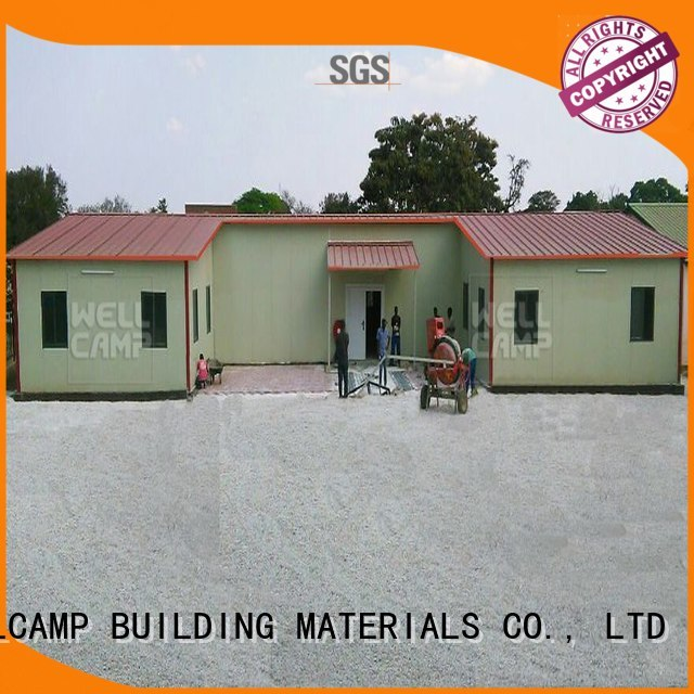 t14 temporary prefab houses for sale luxury WELLCAMP, WELLCAMP prefab house, WELLCAMP container house