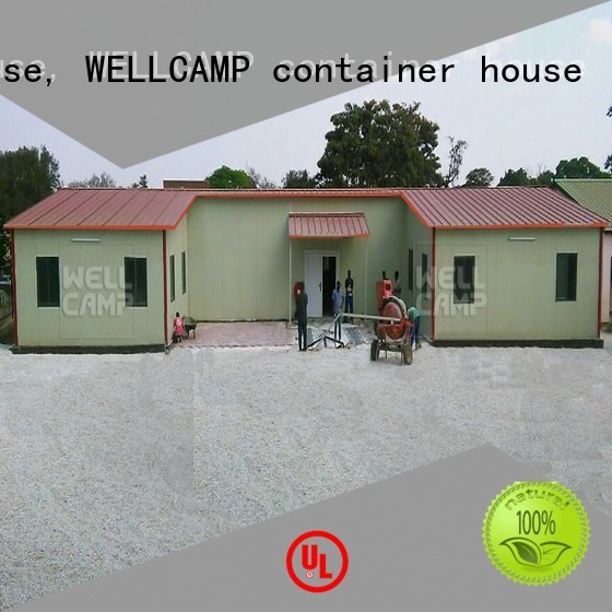 Quality WELLCAMP, WELLCAMP prefab house, WELLCAMP container house Brand office prefab houses for sale