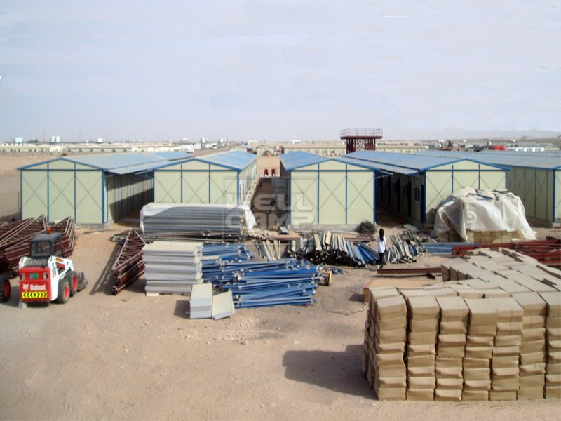 temporary modular prefab house for labor camp in UAE Project, Wellcamp K-4
