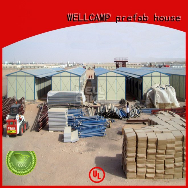 WELLCAMP, WELLCAMP prefab house, WELLCAMP container house hospital single fast prefabricated houses china price seaside