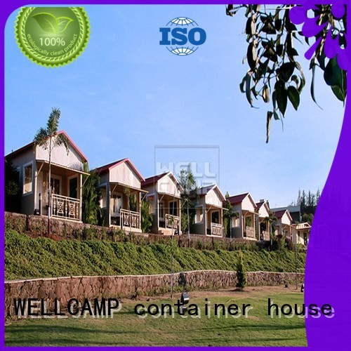 holiday house wellcamp Prefabricated Concrete Villa WELLCAMP, WELLCAMP prefab house, WELLCAMP container house manufacture