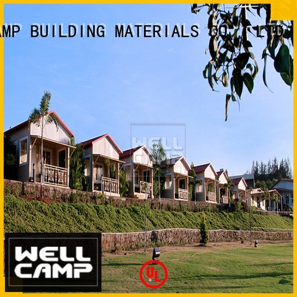Wholesale style luxury modular house WELLCAMP, WELLCAMP prefab house, WELLCAMP container house Brand